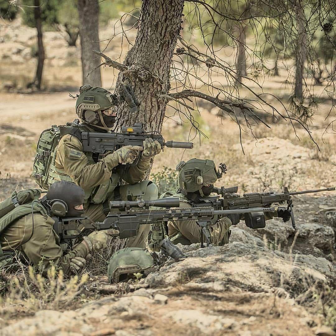 Commandos From Egoz Sof Unit Of Idf Egoz Is A Special Coin