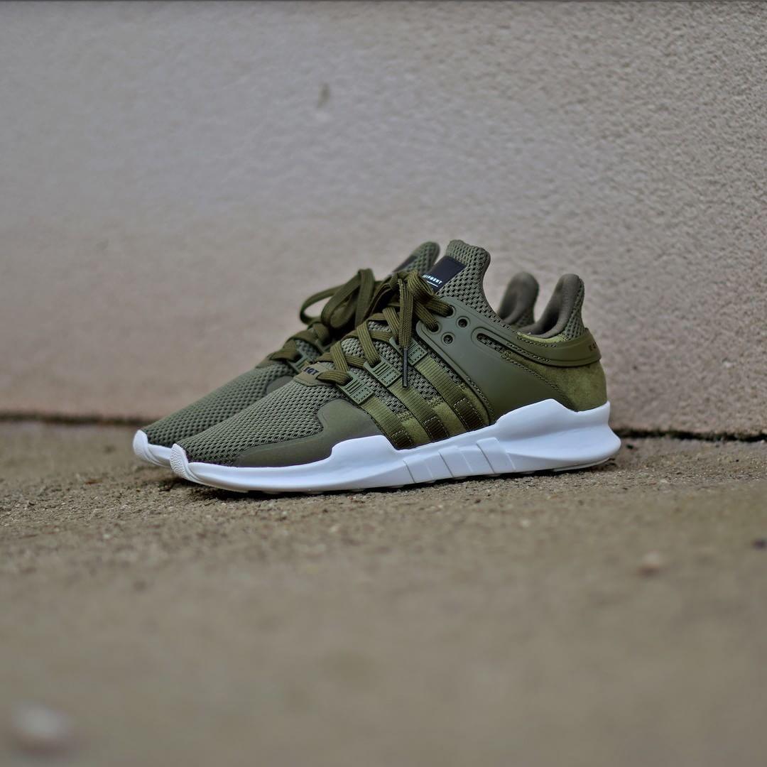 adidas eqt support advanced green
