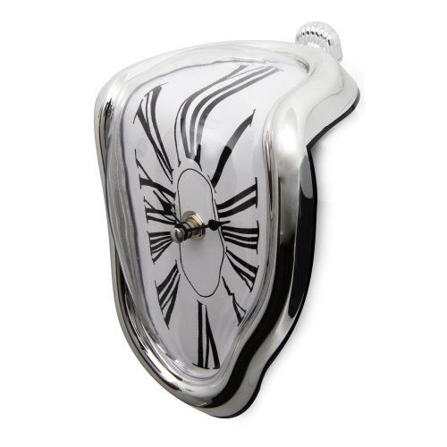 With This Eye Catching Dali Esque Melting Clock Time Doesn T Stop It Simply Melts Away We Promise It Won T Suddenly Drip T Melting Clock Hanging Clock Clock