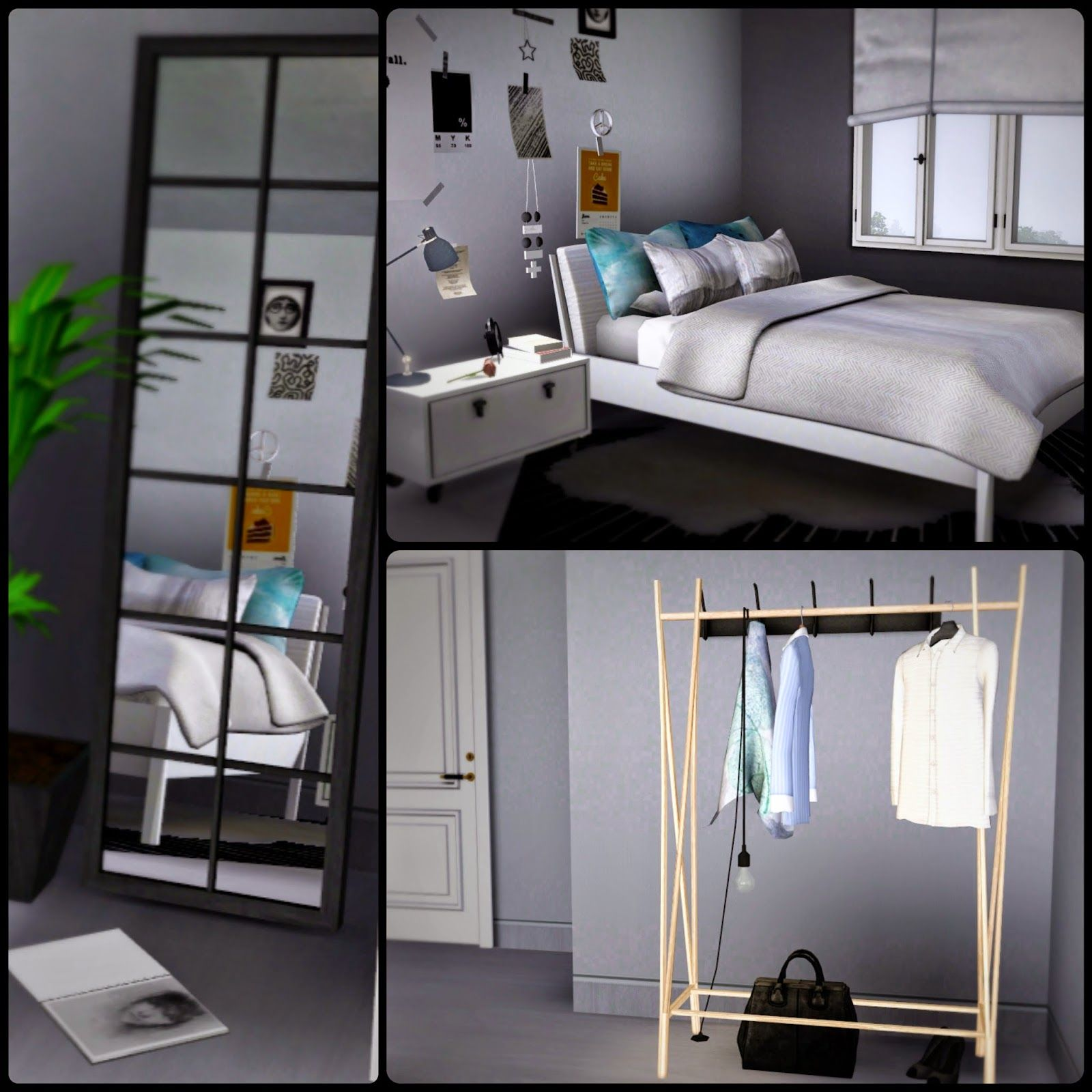 Sims 3 Bedroom Apartment 7b By Simberry Sims 3 Download Starter Home