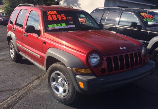 2005 Liberty Sport Jeep Liberty 132 535 Miles 6895 00 Jeep