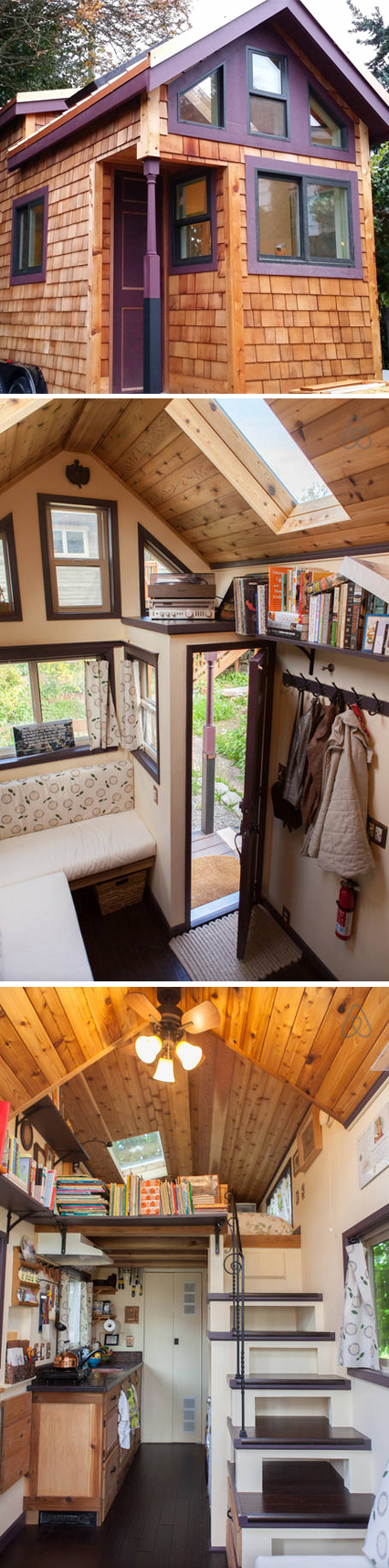 """Seattle, WA, USA. """"I can talk for days about tiny houses"""