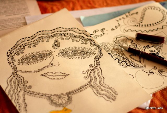 Zentangle: Uncover the Artist within You and Your Child www.mommy-labs.com