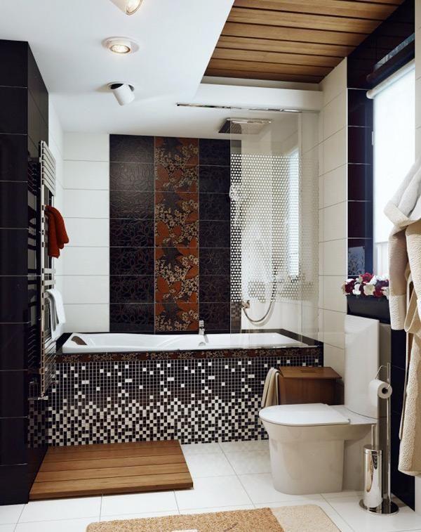Kamar Mandi Mewah Berukuran Kecil Untuk Rumah Minimalis Bathroom