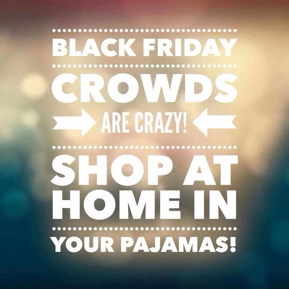 Black Friday. Shop from the comfort of your home! #jamberry
