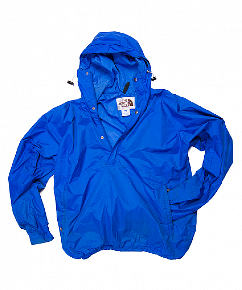how to buy luxury promotion North Face - Men's Pullover Rain Jacket - Royal Blue - 1980s ...