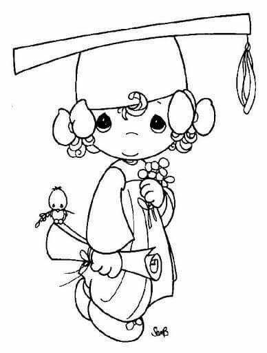 Pin De Veronica Terromed En Graduados Dibujos De Graduacion
