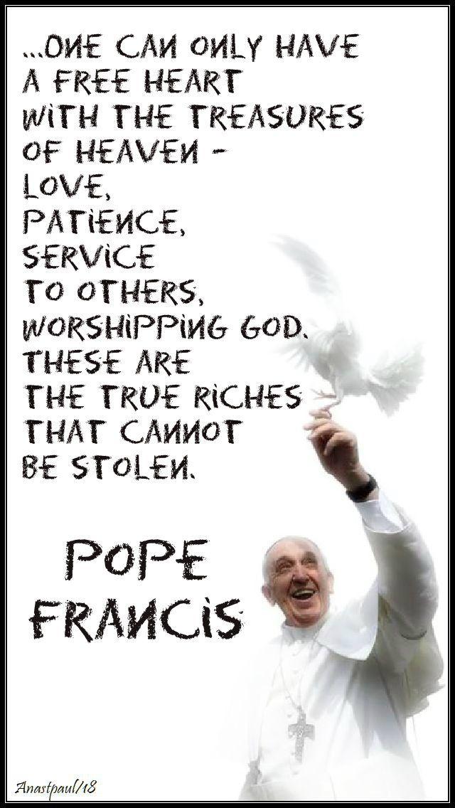 AnaStpaul Breathing Catholic Pope francis, Worship god