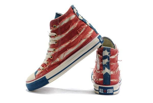 4325d589540c John Varvatos Chuck Taylor All Star Kanway Style Restoring Ancient Ways The American  Flag High Top Converse Canvas