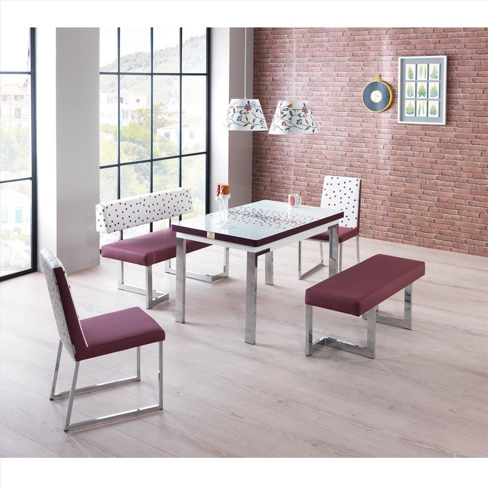 Evkur Rest Banklı Masa Sandalye Takımı   Odası Modelleri -Mobilya Modelleri  - Ev Dekorasyon Ürünleri   Yemek masası sandalyesi, Mobilya fikirleri,  Mobilya