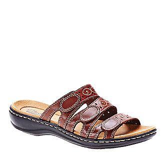 clarks leisa cacti slide sandals footsmart  women
