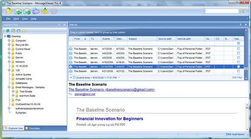 Pst Viewer Pro Software Lets You Open Pst Files Without Outlook Microsoft Outlook Viewers Beginners