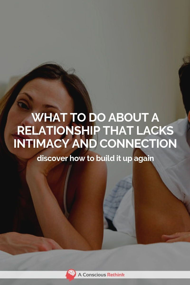 how do you get intimacy back in a relationship