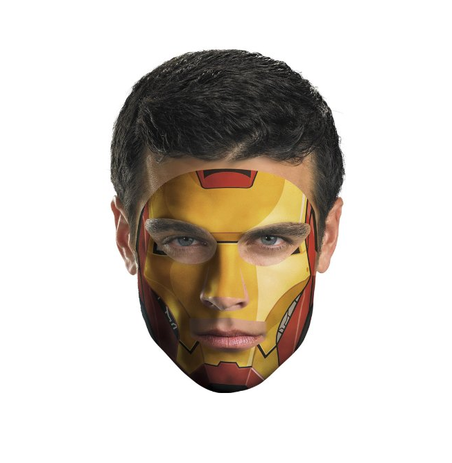 Cosplay with Marvel Temporary Tattoo Mask