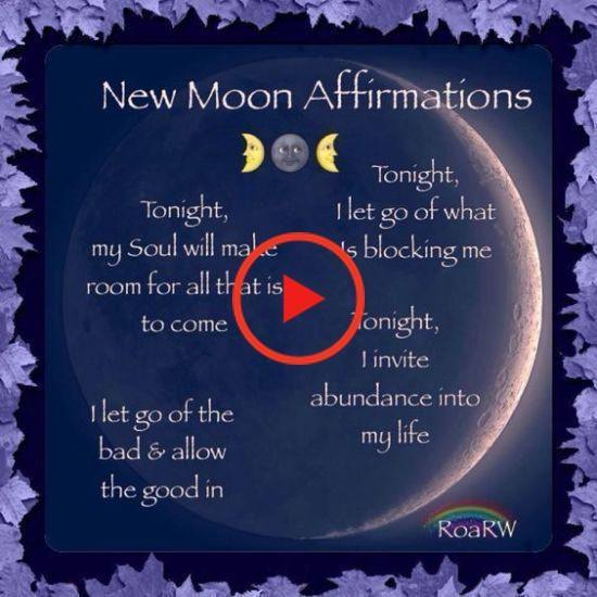 New Moon Ritual - June 2018 - Soyvirgo's new moon intentions