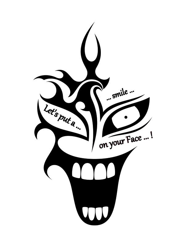 Lets Put A Smile On Your Face Joker Tattoo Tattoos Clown