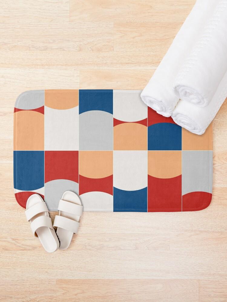 Vivid Tiles 03 #redbubble #buyart #pattern #bathmat by #designdn #Worldwide #shipping available at designdn.redbubble.com #giftideas #decor #homedecor #dormdecor #dormgoals #interiordesign #shopping #buyart #bathroom #bathroomdecor #giftideas #patterndesign #findyourthing #walltiles #bold #geometric #midmod