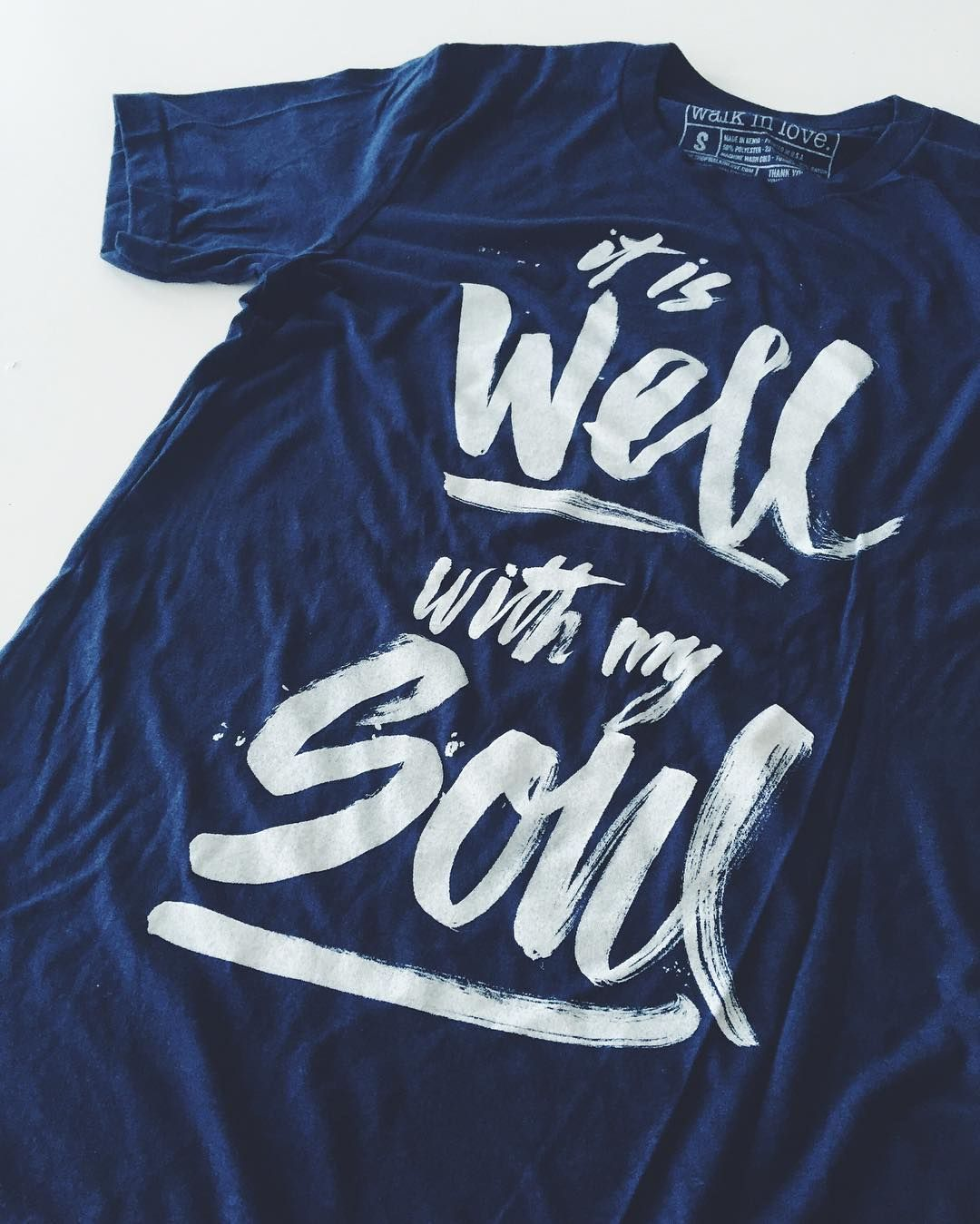 It Is Well With My Soul Now Available On A Unisex Crew Neck Tee