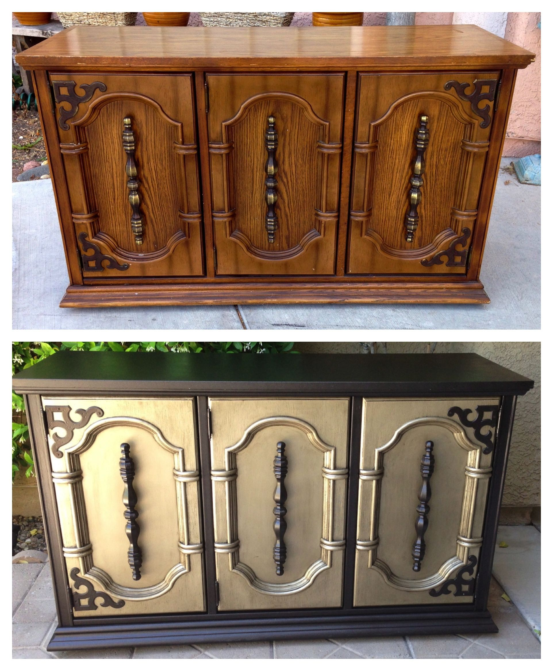 Before And After Refurbished Furniture