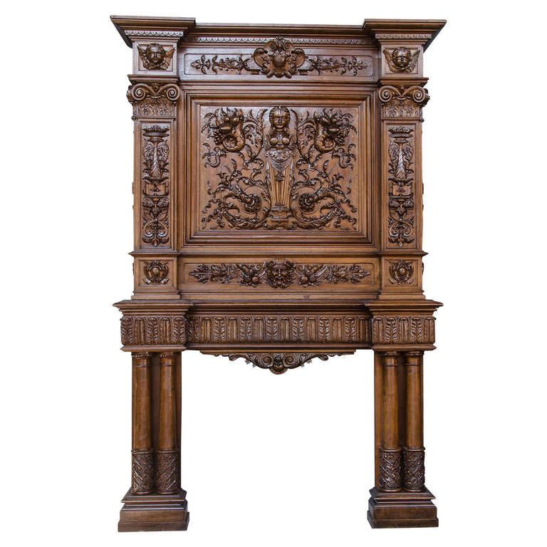 French 19th Century Fireplace   From a unique collection ...