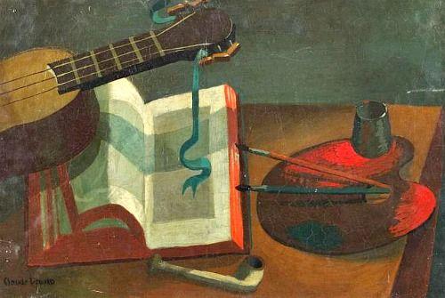 Claude Venard  Composition with Palette  20th century