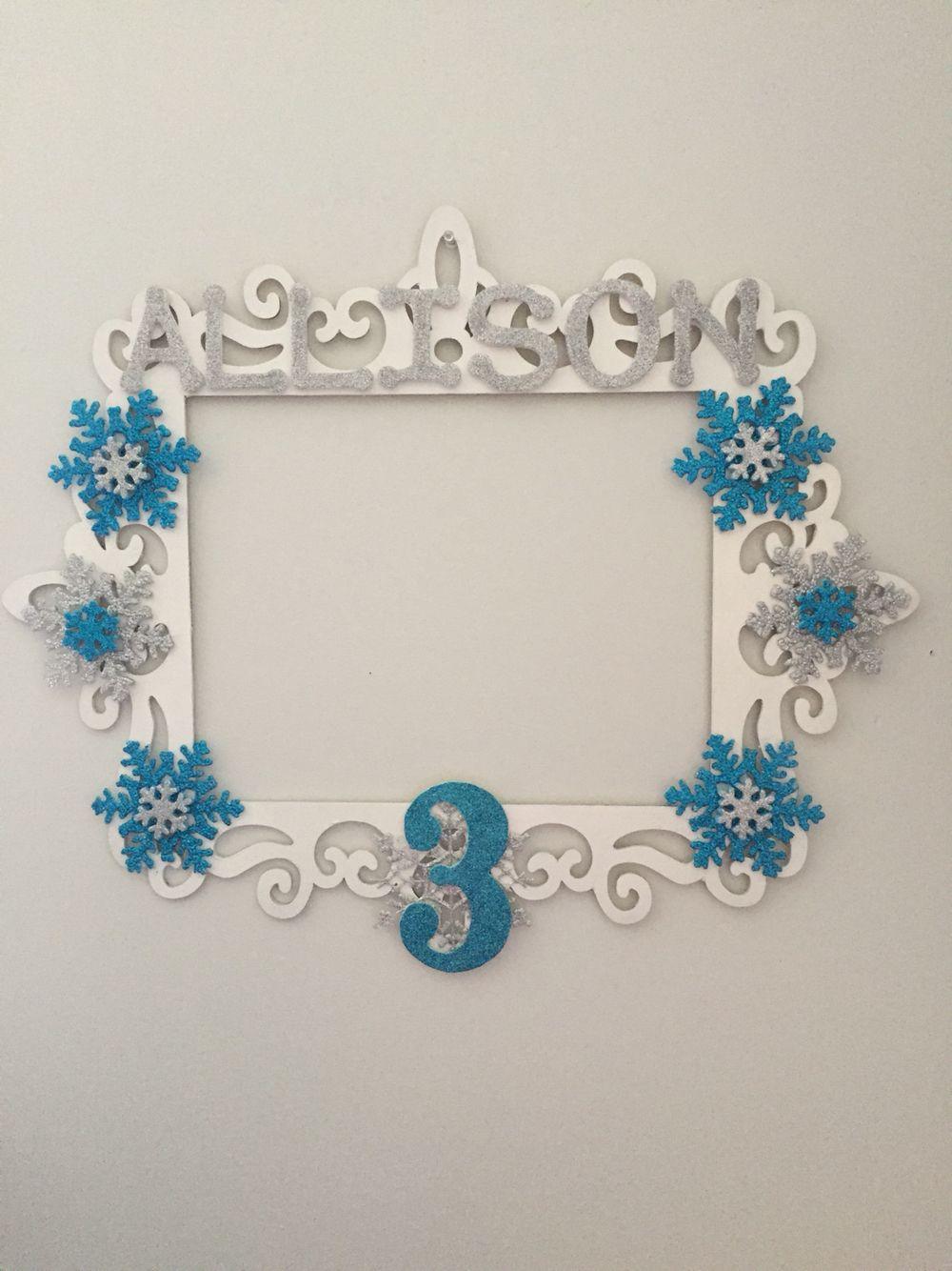 Photo booth frame …   marcos para fiestas   Pinte…
