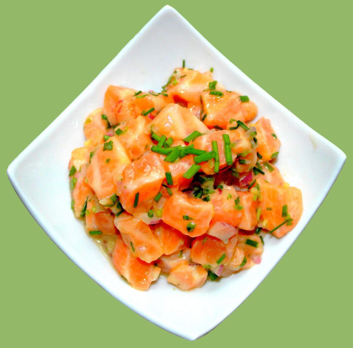 Тартар из лосося | Рецепт | Французская кухня ...