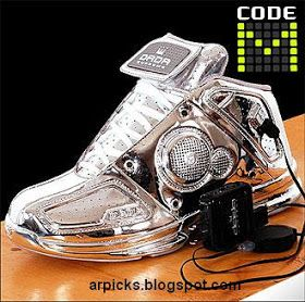 Cool Electronic Gadgets: MP3 Shoes