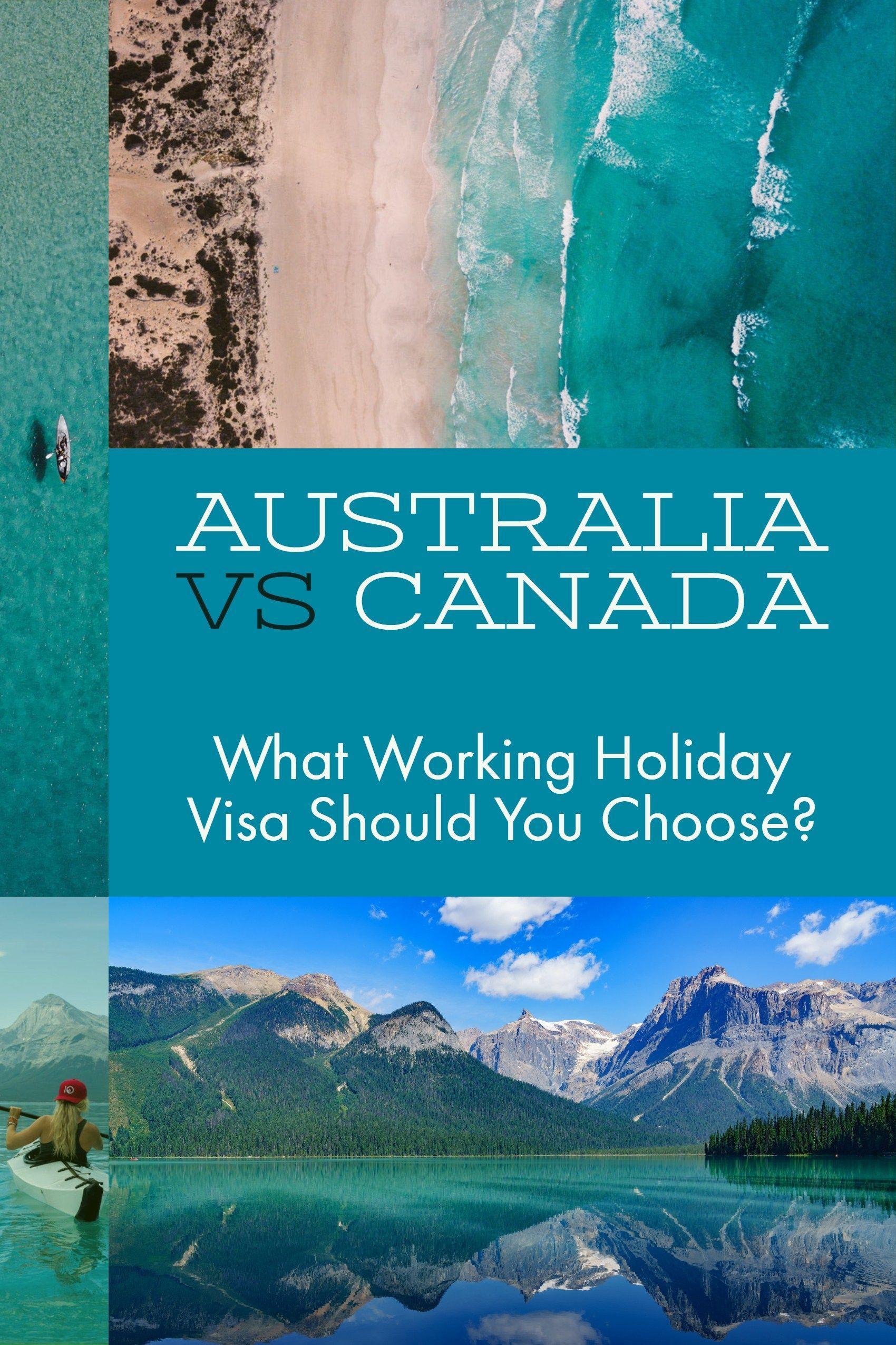Australia vs canada working holiday visa sportscars