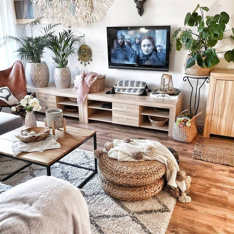 If you prefer to add fascinating hues to your living room, then this interior pl… - bingefashion.com/interior #boholivingroom