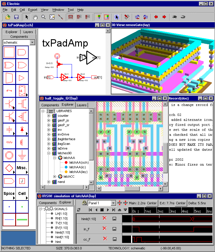 Electric VLSI Design System is an open-source Electronic Design ...