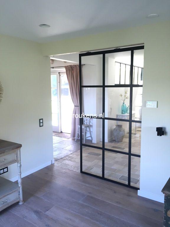 Steellife by roukens stalen deuren taatsdeuren en scheidingswanden met glas misschien ooit for Keuken met glas