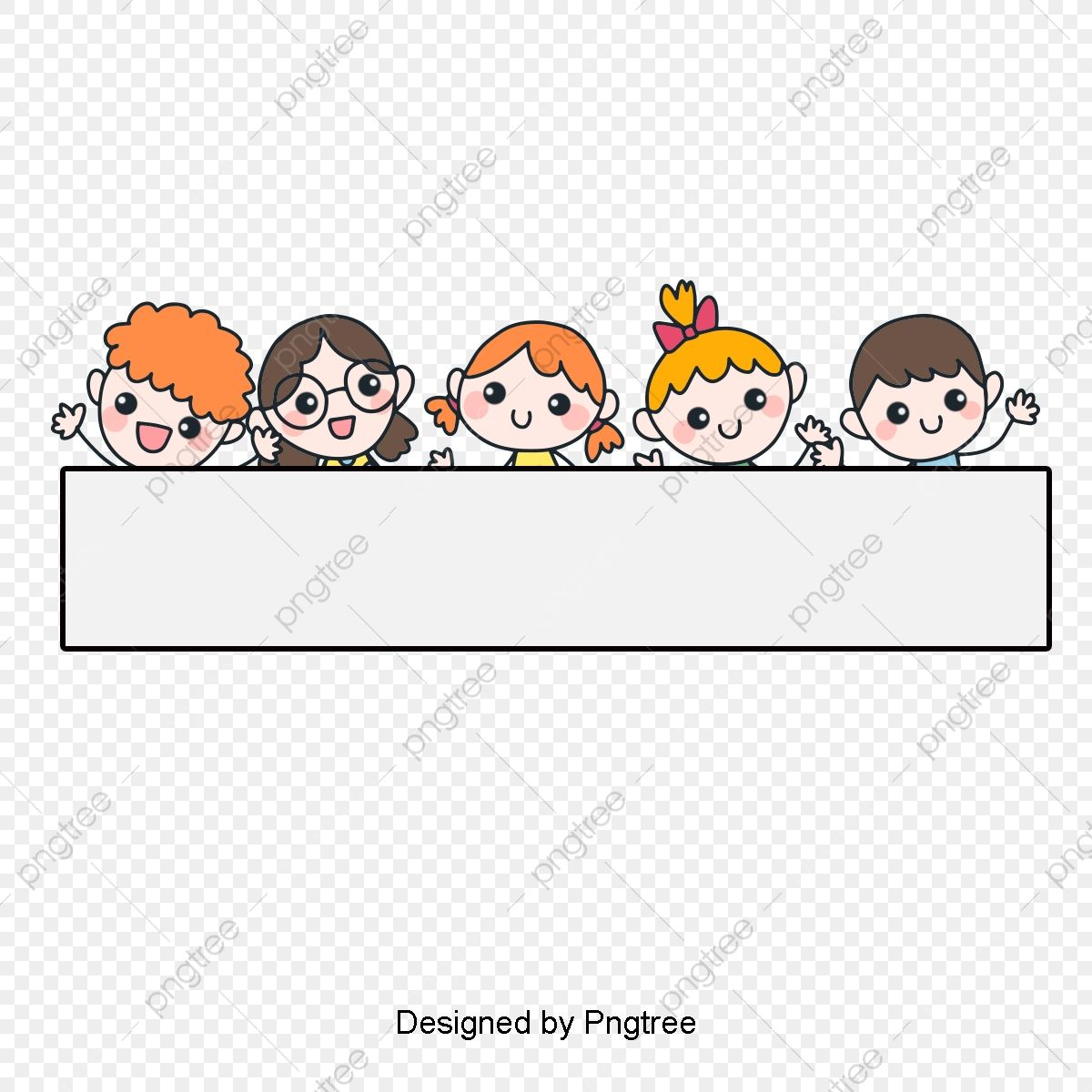 Border Cartoon Children Children Clipart Cartoon Child Png Transparent Clipart Image And Psd File For Free Download Doodle Borders Cartoon Character Design Powerpoint Background Design