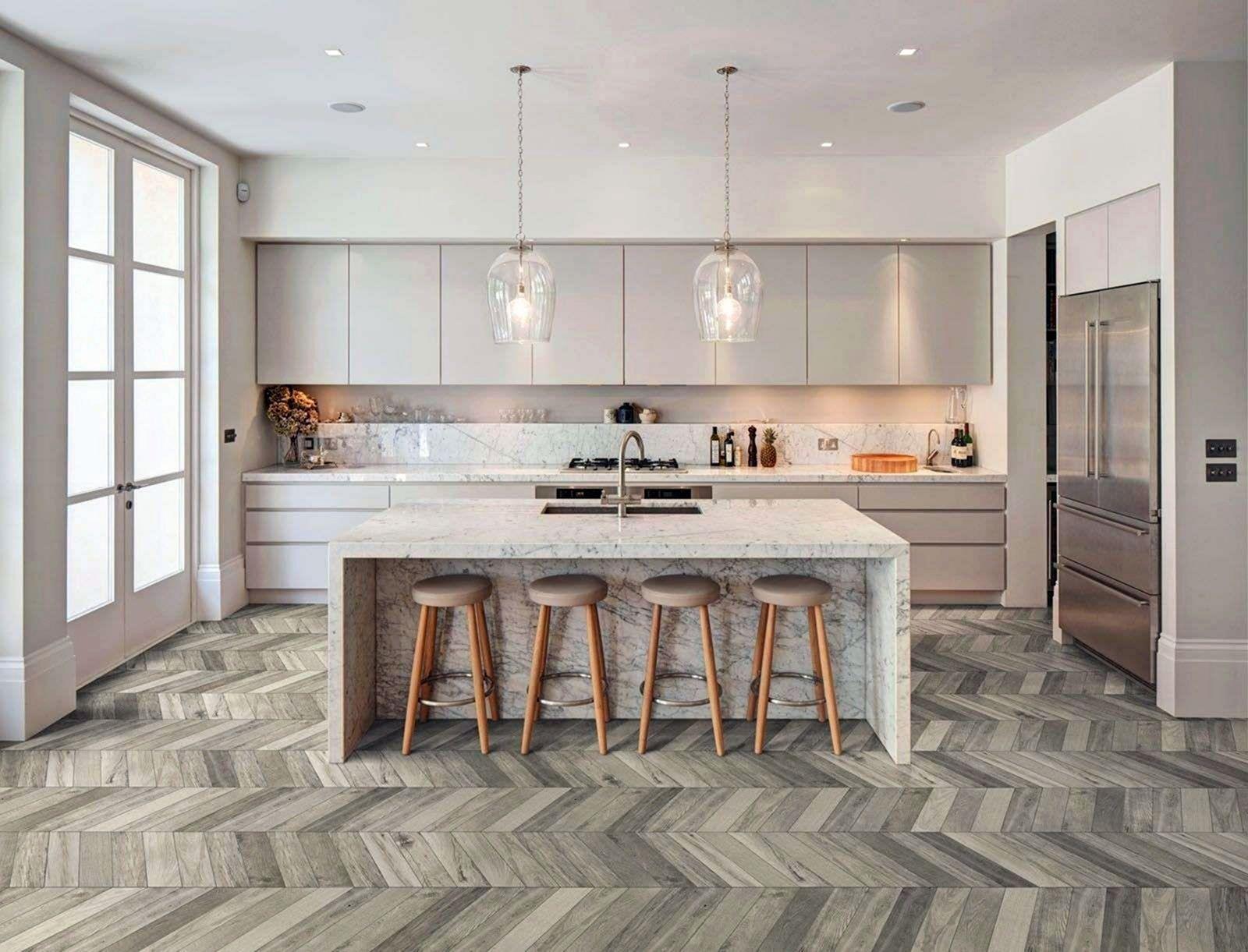 9 Beautiful Modern Kitchen To Upgrade Your Home Interior In 2020 Kitchen Flooring Options Vinyl Flooring Kitchen White Kitchen Floor