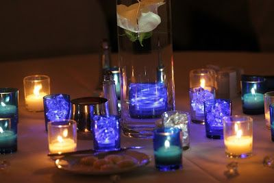 Things Festive Weddings & Events: Real Cobalt Blue Wedding in Bowling Green, KY: Jesica & Danny