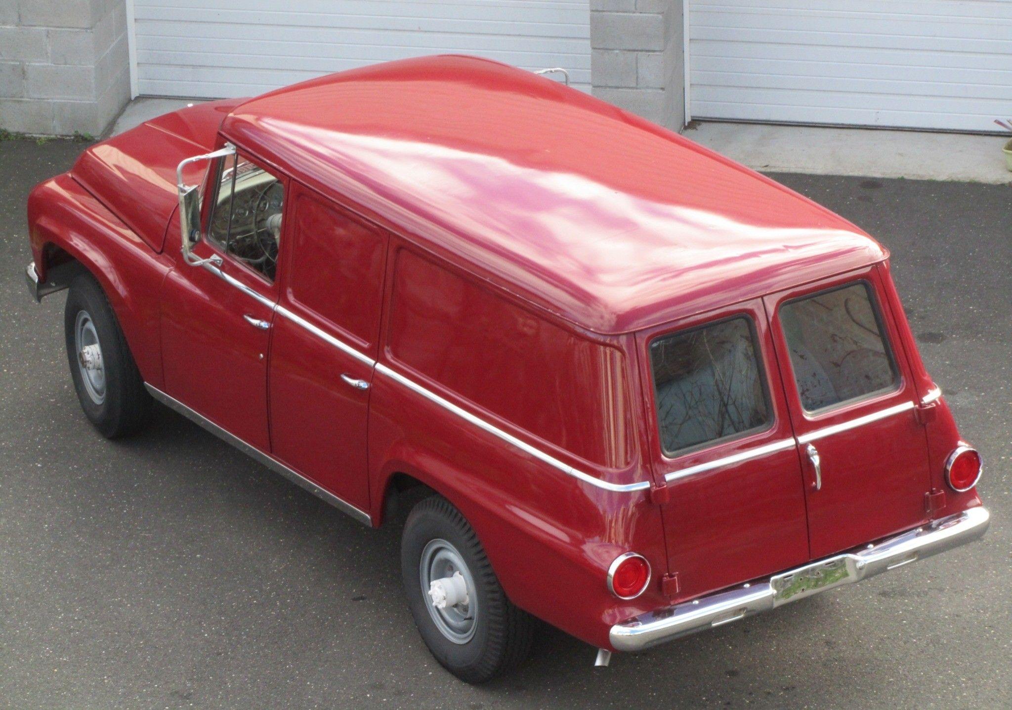 1967 International Travelall Panel Van W 292ci Small Block V8 International Travelall Van Trucks