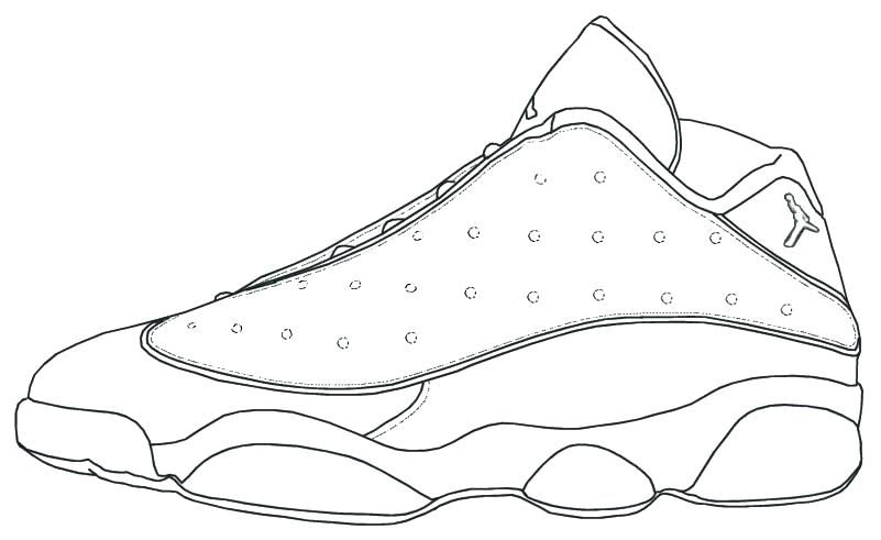 Grab Your Fresh Coloring Pages Jordan Shoes Free Https Www Gethighit Com Fresh Coloring Pages Jordan Shoes Free Che Sneakers Sneakers Sketch Shoe Template