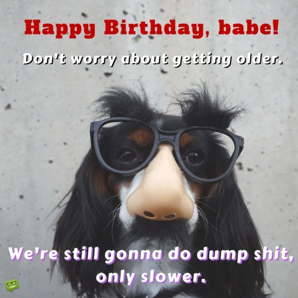 Make Her Smile : Funny Birthday Wishes For Your Wife