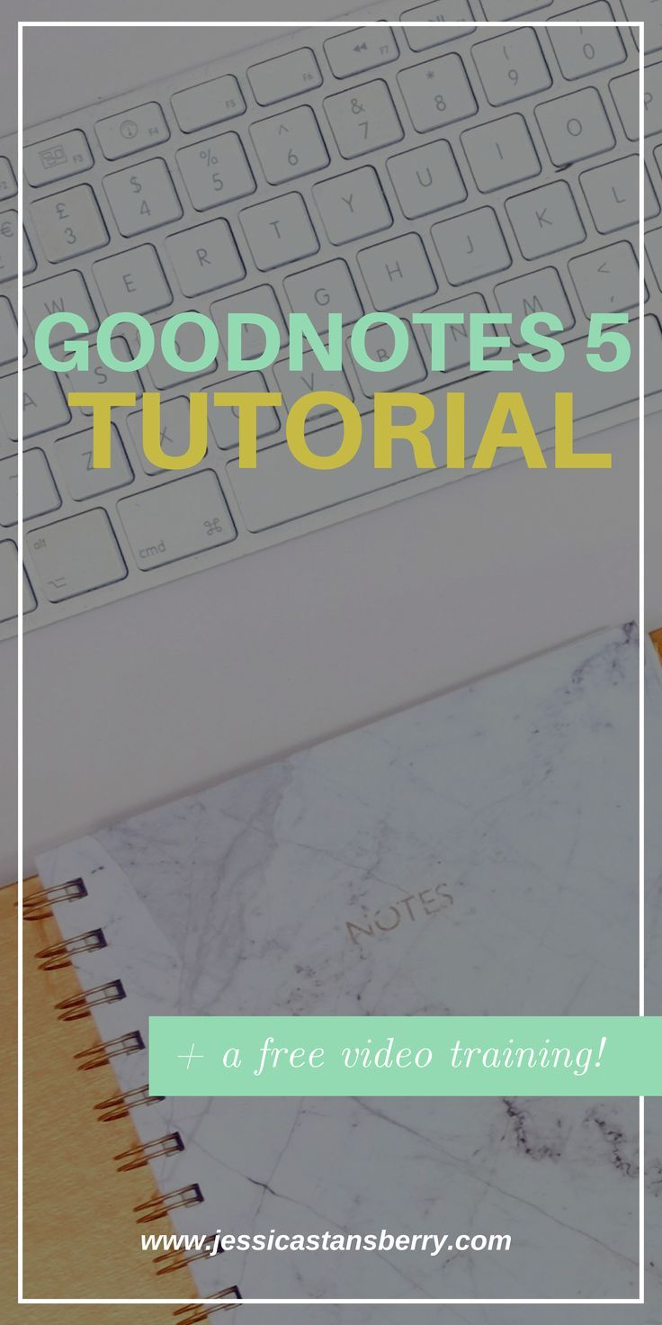 Goodnotes 5 Tutorial | Some fun NEW features!