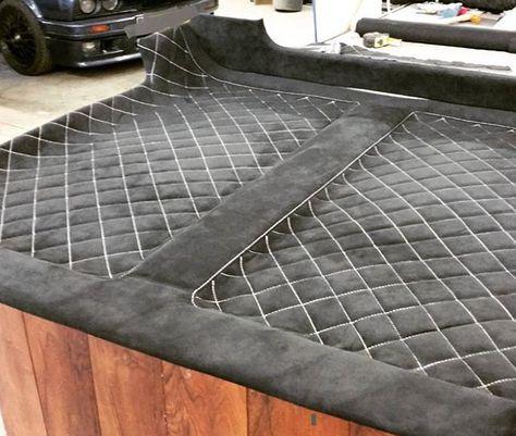 10 Cool Custom Headliners On Instagram The Hog Ring Car Interior Upholstery Car Upholstery Car Interior