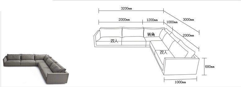 Standard Sofa Dimensions In Meters - Wallpaperall | Sofa ...