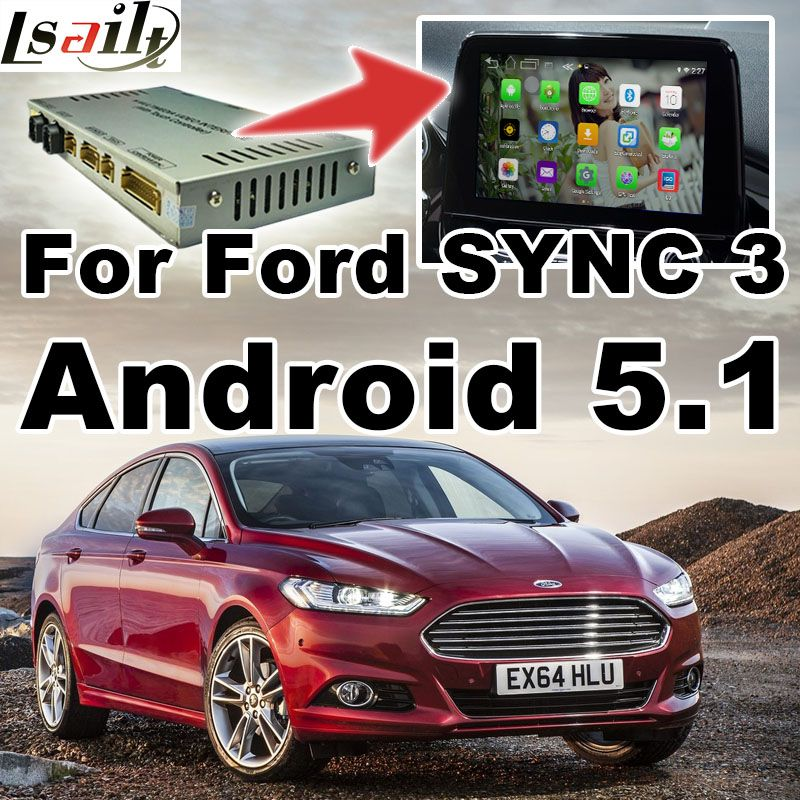 Android GPS navigation box video interface for Fusion Mondeo Edge