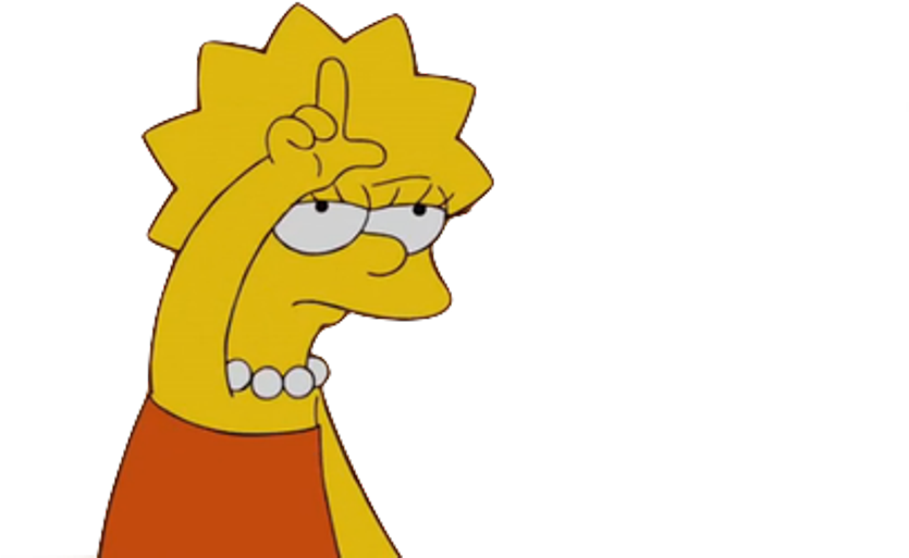 Find Hd Free Lisa Simpson Tumblr Png Clipart Png Download Lisa Simpson Loser Sticker Download It Free For Persona Lisa Simpson Simpsons Cartoon Tumblr Png
