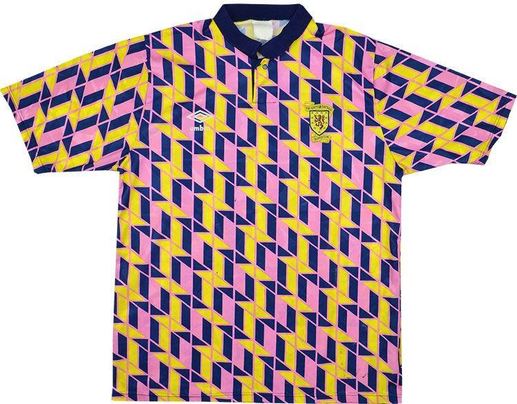 6e6c2aec22c 1991-93 Scotland Umbro Leisure Shirt (Good) L | Fashion | Vintage ...