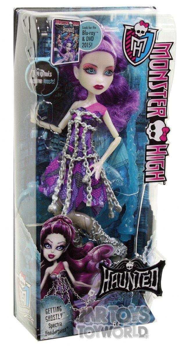 Monster High Haunted Getting Ghostly Spectra Vondergeist Mr Toys