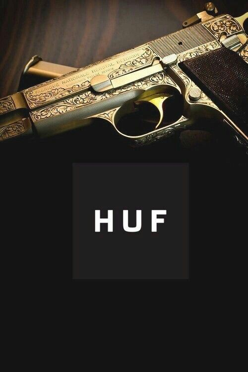 brand new 5b160 d3a82 HUF  GUN    Gun  Girl in 2019   Huf wallpapers, Weed wallpaper, Dope ...