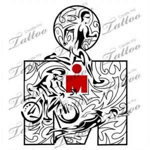 Ironman Tribal Triathlon Design Createmytattoocom