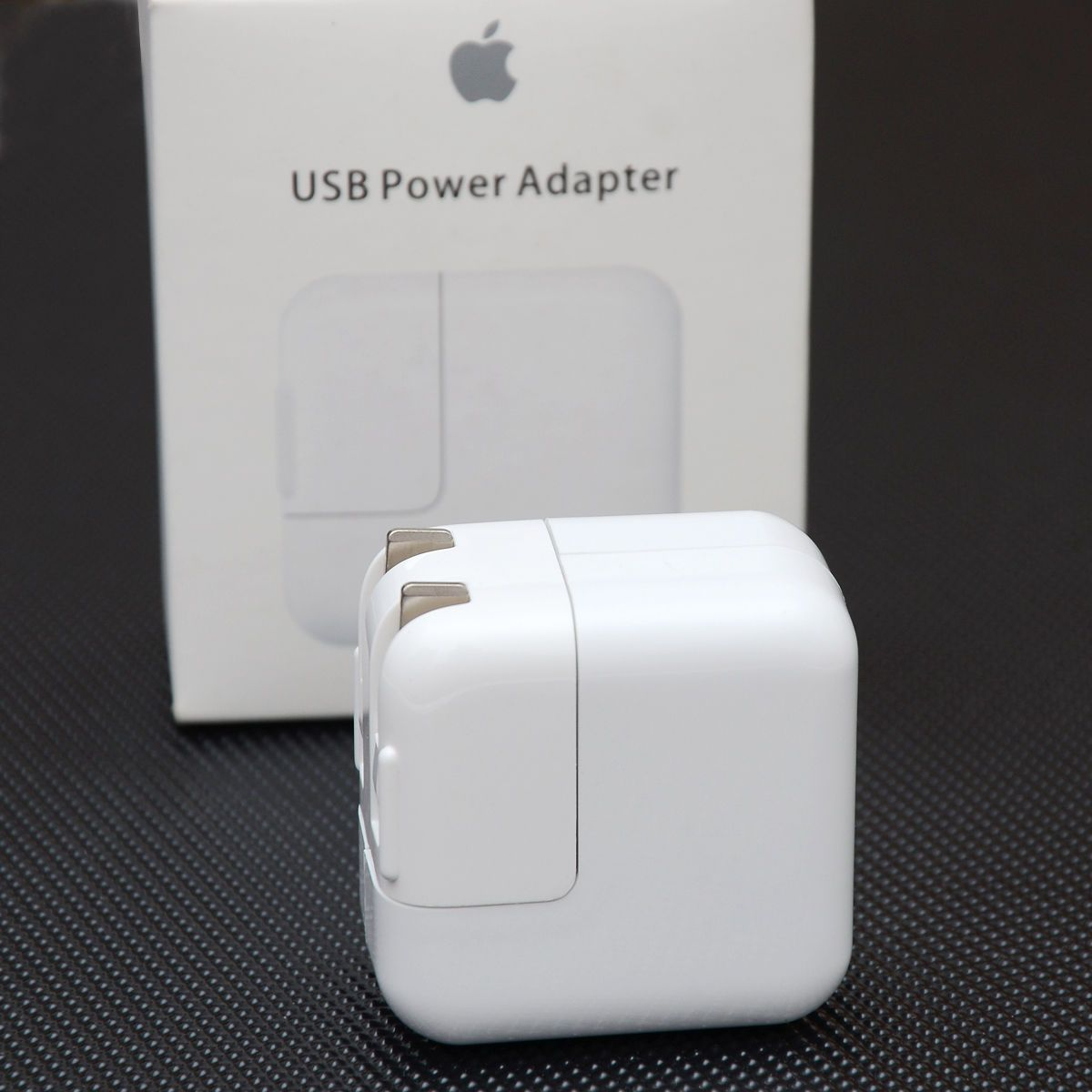/& iPod iPad Genuine Apple 12W USB Power Adapter Wall Charger A1401 for iPhone
