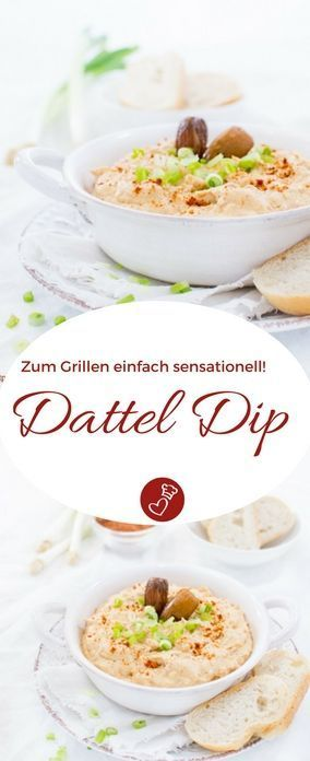 Datteldip - der andere Dip zum Grillen   - Internationale Rezepte /// International food -