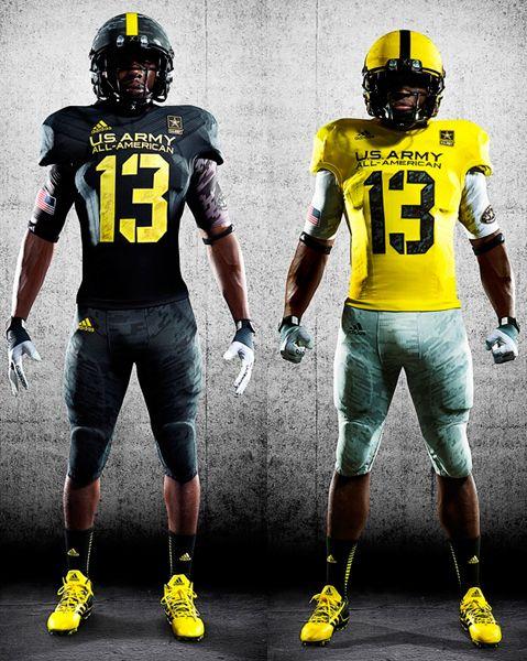 58cdbe8fe4b2 Adidas unveils uniforms for U.S. Army All-American Bowl